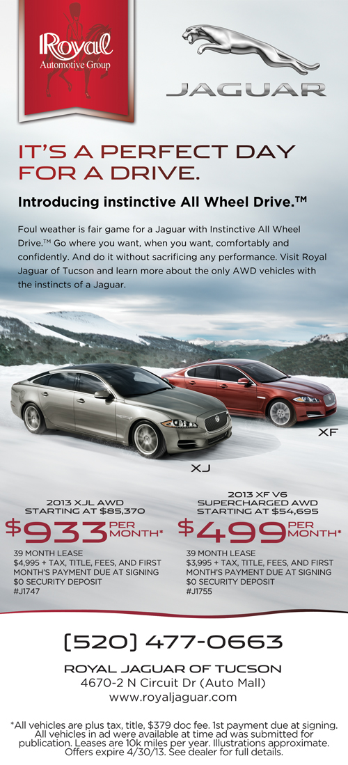 Royal Jaguar of Tucson specials